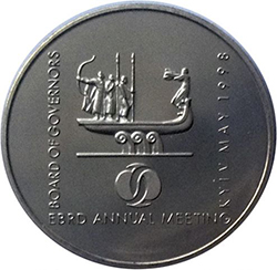 Coin 2 hryvnia EBRD (BRR) Cost. Why so expensive? The history of the coin.